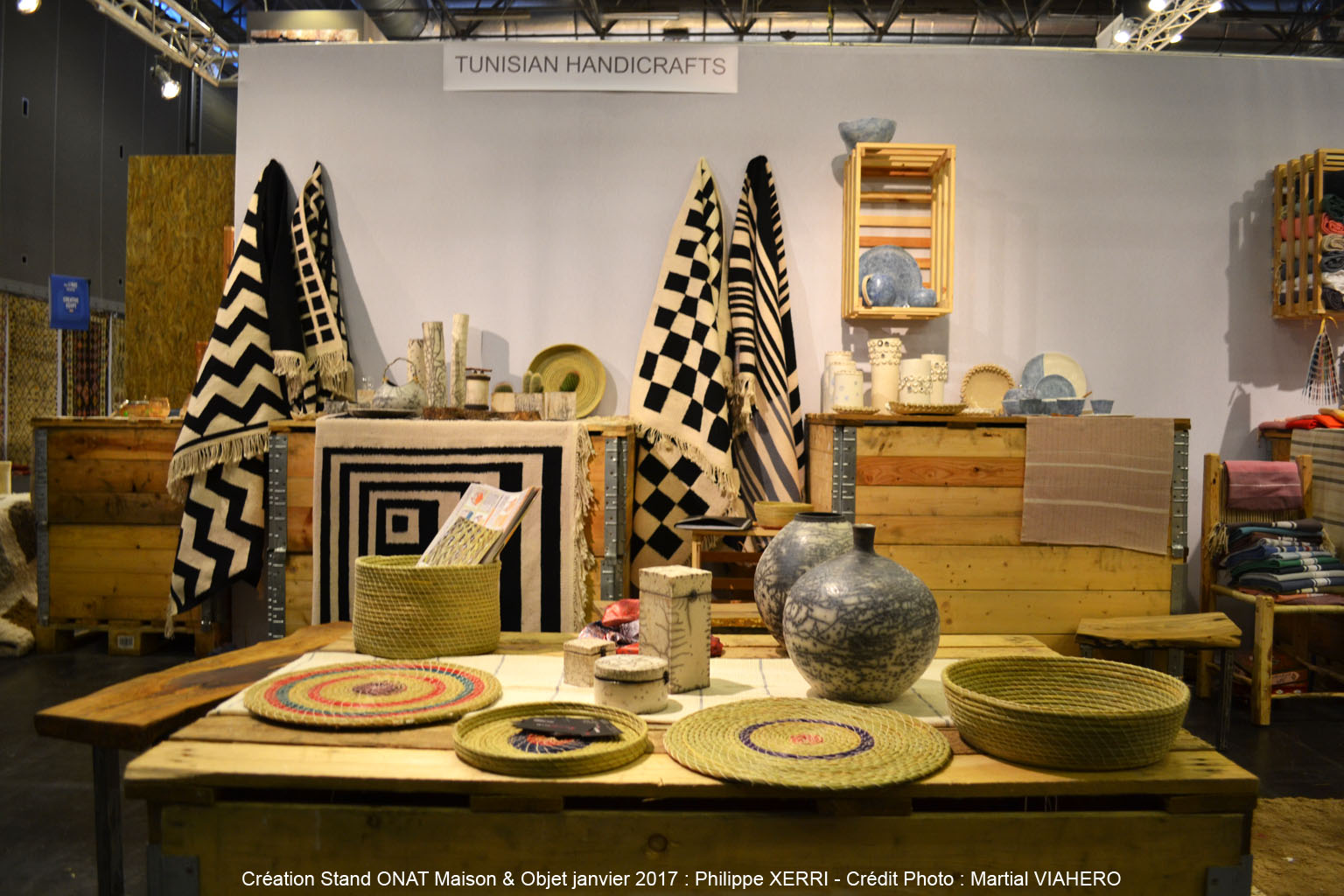 En photos la tunisie au salon maison et objets paris for A design and color salon little rock