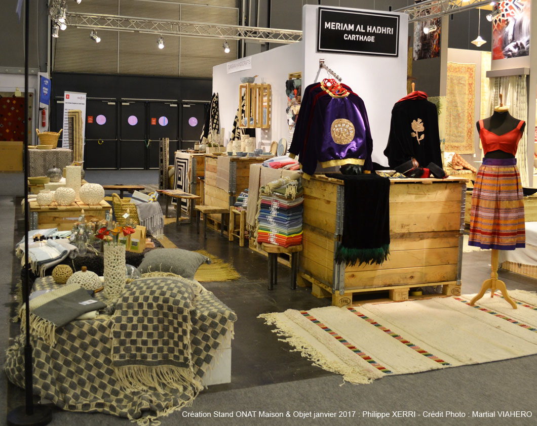 Tunisia attended the maison et objets fair from 20 to 24 january 2017 this is one of the most popular events in the world reserved for professionals